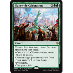 Magic löskort: War of the Spark: Planewide Celebration