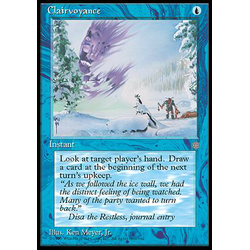 Magic löskort: Ice Age: Clairvoyance
