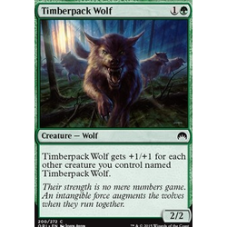 Magic löskort: Origins: Timberpack Wolf
