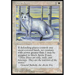 Magic löskort: Ice Age: Arctic Foxes