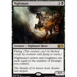 Magic löskort: Welcome Deck 2016: Nightmare