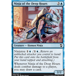 Magic löskort: Commander 2018: Ninja of the Deep Hours