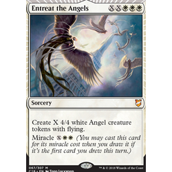 Magic löskort: Commander 2018: Entreat the Angels