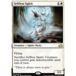 Magic löskort: Eldritch Moon: Selfless Spirit