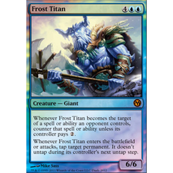 Magic löskort: Duels of the Planeswalkers: Frost Titan (Promofoil)
