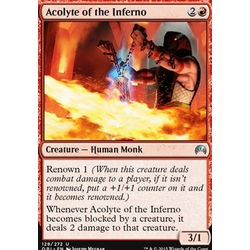 Magic löskort: Origins: Acolyte of the Inferno