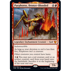 Magic löskort: Theros: Beyond Death: Purphoros, Bronze-Blooded