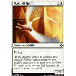 Magic löskort: Zendikar vs Eldrazi: Makindi Griffin