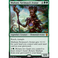 Magic löskort: Dominaria: Multani, Yavimaya's Avatar