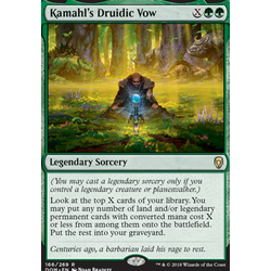 Magic löskort: Dominaria: Kamahl's Druidic Vow