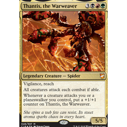Magic löskort: Commander 2018: Thantis, the Warweaver (Foil)