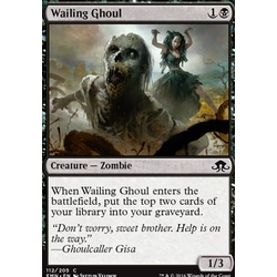 Magic löskort: Eldritch Moon: Wailing Ghoul