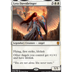 Magic löskort: Dominaria: Lyra Dawnbringer