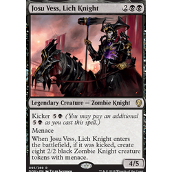 Magic löskort: Dominaria: Josu Vess, Lich Knight