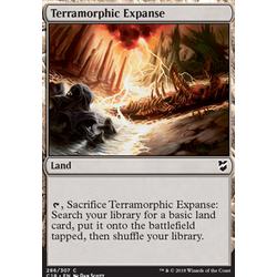 Magic löskort: Commander 2018: Terramorphic Expanse