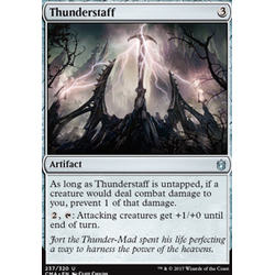 Magic löskort: Commander Anthology: Thunderstaff