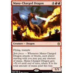 Magic löskort: Commander Anthology: Mana-Charged Dragon
