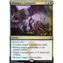 Magic löskort: Dragons of Tarkir: Silumgar's Command