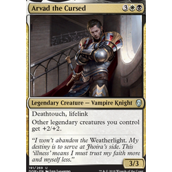 Magic löskort: Dominaria: Arvad the Cursed