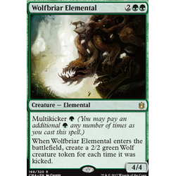 Magic löskort: Commander Anthology: Wolfbriar Elemental