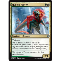 Magic löskort: War of the Spark: Huatli's Raptor