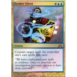 Magic löskort: BOB Promo: Render Silent (Foil)