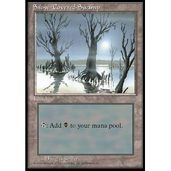 Magic löskort: Ice Age: Snow-Covered Swamp