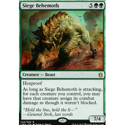 Magic löskort: Commander Anthology: Siege Behemoth