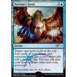 Magic löskort: FNM Promo: Fortune's Favor (Foil)