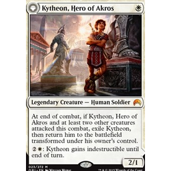 Magic löskort: Origins: Kytheon, Hero of Akros