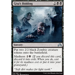 Magic löskort: Shadows over Innistrad: Gisa's Bidding