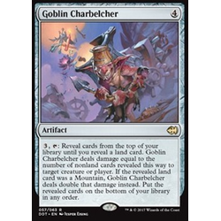 Magic löskort: Duel Decks: Merfolk vs. Goblins: Goblin Charbelcher