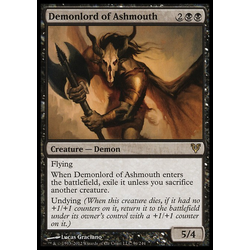 Magic löskort: Avacyn Restored: Demonlord of Ashmouth