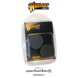 Round Bases 40mm (8)