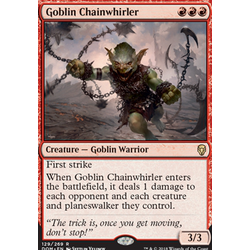 Magic löskort: Dominaria: Goblin Chainwhirler