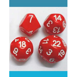 Impact Dice D22 - Red