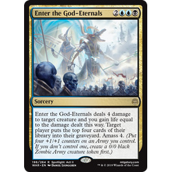 Magic löskort: War of the Spark: Enter the God-Eternals