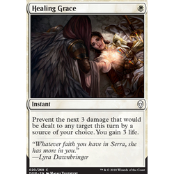 Magic löskort: Dominaria: Healing Grace