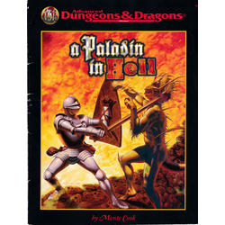 ADD 2nd Ed: A Paladin in Hell, by Monte Cook