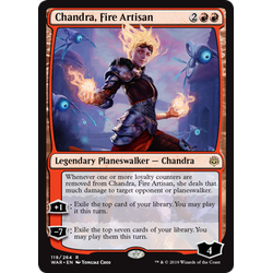 Magic löskort: War of the Spark: Chandra, Fire Artisan