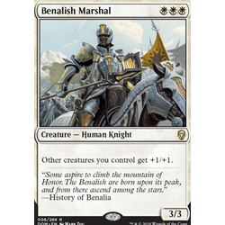 Magic löskort: Dominaria: Benalish Marshal