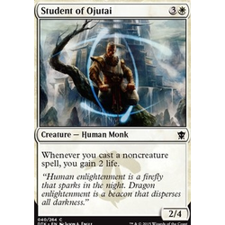 Magic löskort: Dragons of Tarkir: Student of Ojutai (foil)