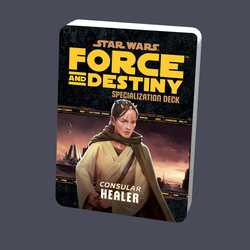 Star Wars: Force and Destiny: Specialization Deck Consular Healer