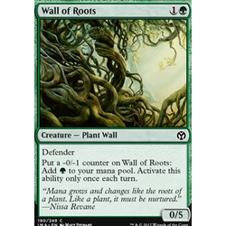 Magic löskort: Iconic Masters: Wall of Roots