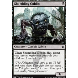 Magic löskort: Dragons of Tarkir: Shambling Goblin
