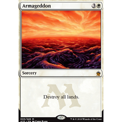 Magic löskort: Masters 25: Armageddon