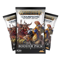 Warhammer Age of Sigmar: Champions - Wave 1 Booster Display (24)