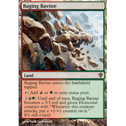 Magic löskort: Zendikar: Raging Ravine