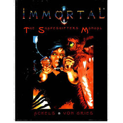 Immortal, The Invisible War: The Shapeshifter's Manual