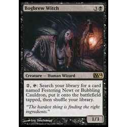 Magic löskort: Magic 2014: Bogbrew Witch